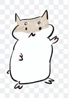 倉鼠(棕色)