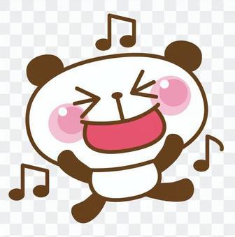 I'm happy with the panda