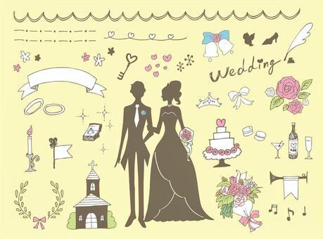婚禮手繪材料