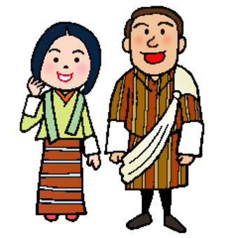 ブータン(世界の人々)