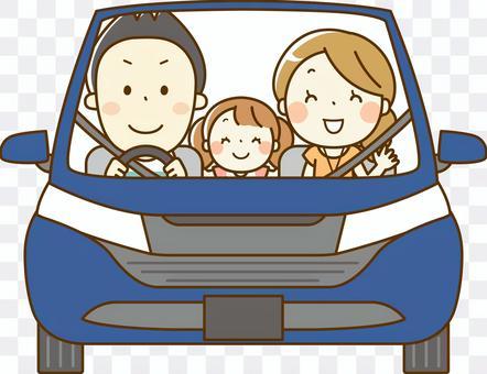 与家人02一起开车