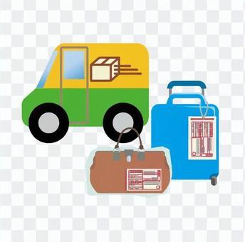 旅行的行李