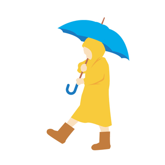 Going out on a rainy day