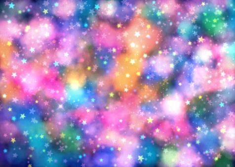閃光星空壁紙