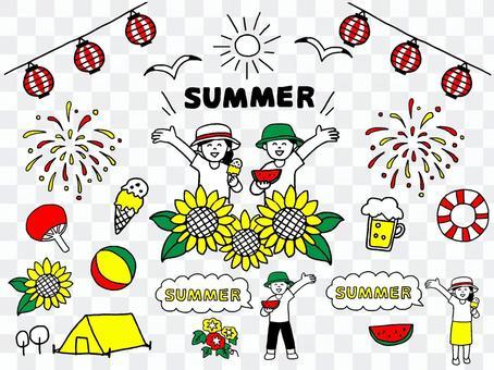 夏セット(シンプル)