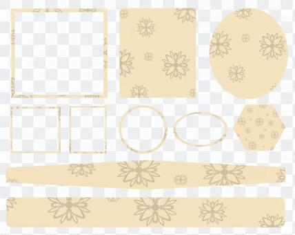 Ivory simple frameset