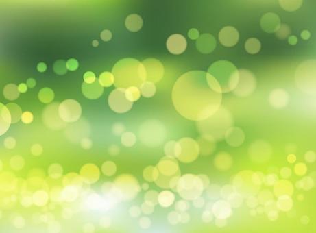 Green gradation background material
