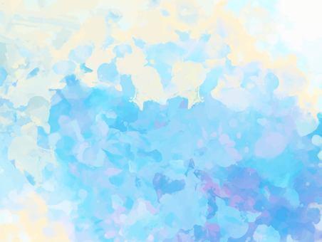 淡藍色淡水紋理背景
