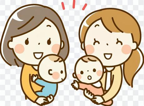 媽媽和寶寶_伴侶