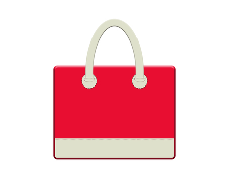 Leather bag 13-2 (red)