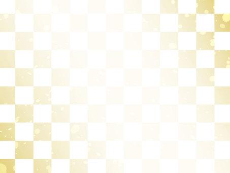 方格閃光日本圖案背景