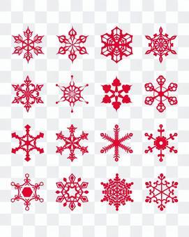 Various snow crystals [2]