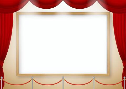 畫廊風格顯示框架