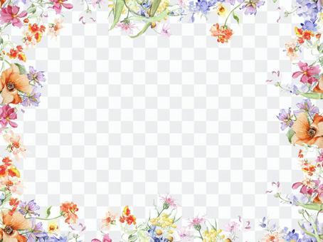 Small flower flower frame - Frame
