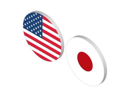 Currency pair (USDJPY: Yen isometric)