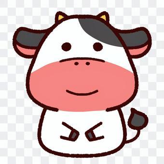 かわいい牛