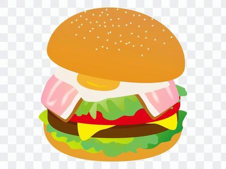培根生菜漢堡