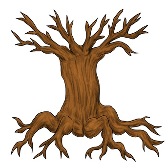 Creepy dead tree