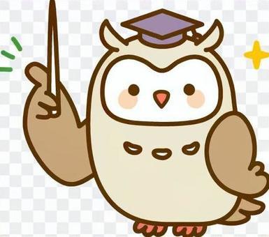 貓頭鷹的老師