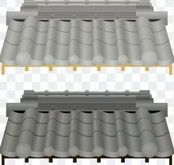 Roof tile roof _ roof