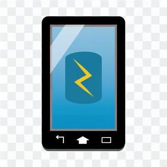 智能手機屏幕(充電圖像)