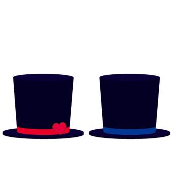 Military silk hat