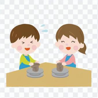 陶芸デート