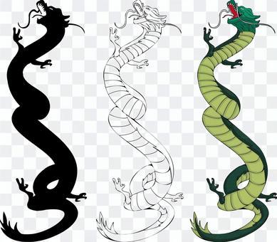 Dragon Dragon Dragon China Flying Climb