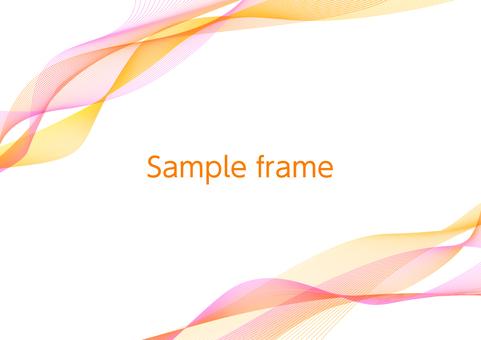 Pink network geometry diagonal frame