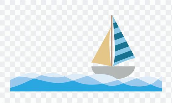 遊艇和海洋