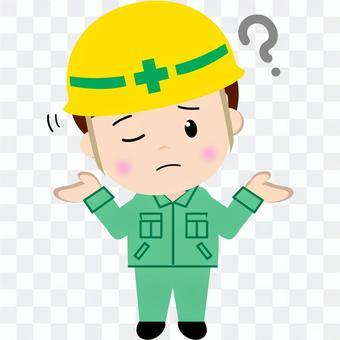 Construction worker (Hatena)
