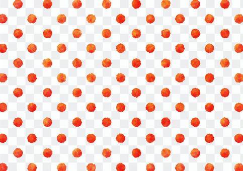 水彩點水紋理紅顏色