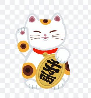 招き猫・小判