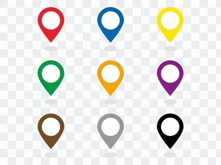 Simple map pin icon
