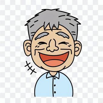 Grandpa _A laugh