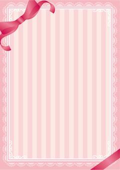 可愛的條紋的絲帶背景