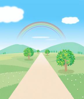 景觀與道路圖