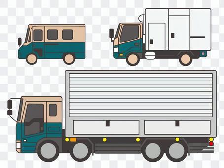 宅配便トラック