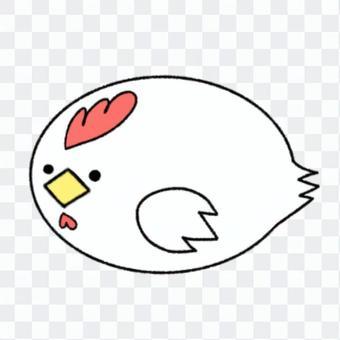 かわいい 鳥 ニワトリ
