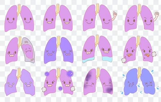 肺,疾病,症狀