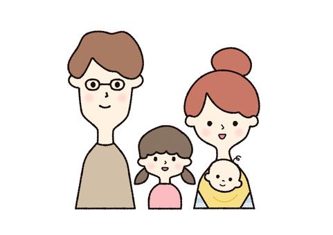 2世代家族