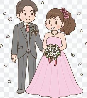 结婚式 新郎新妇2