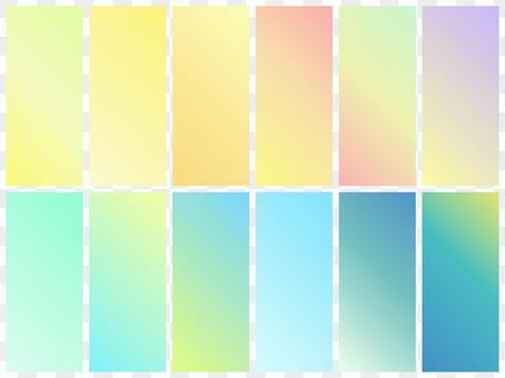 漸變3 /色板/背景夏天的顏色