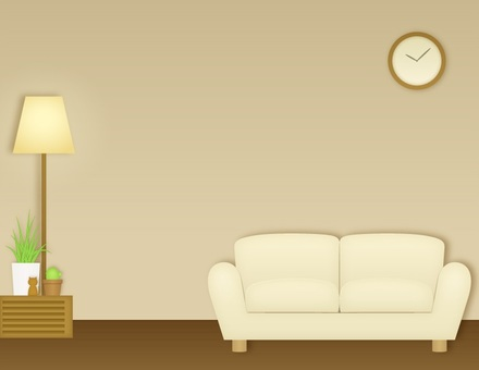 Interior _ room _ white sofa