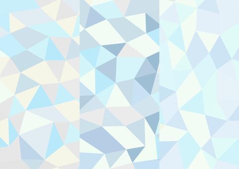 Refreshing polygon-like background_3 types