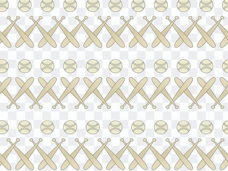 ai棒球圖案與色板