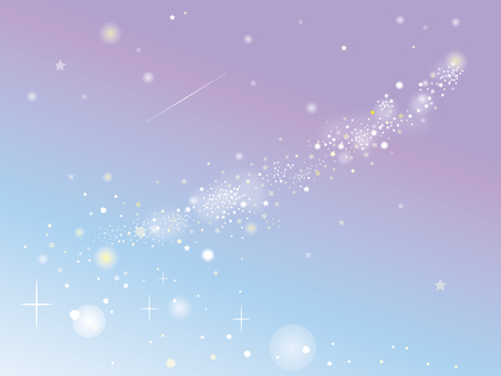 Starry sky background wallpaper image