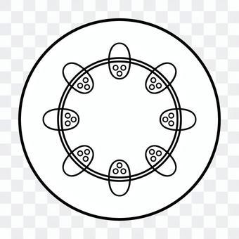 雙子葉維管束(單色)