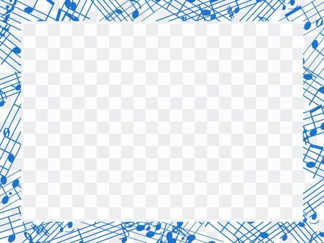 一個框架的筆記,一個簡單的裝飾框架的分數