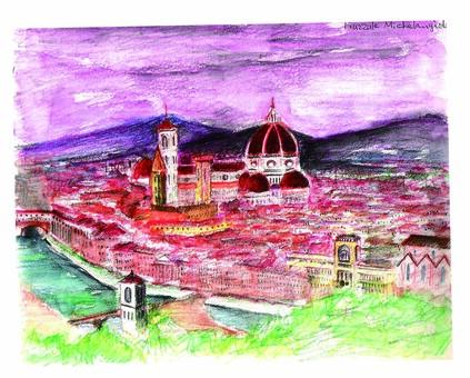 Florence dusk